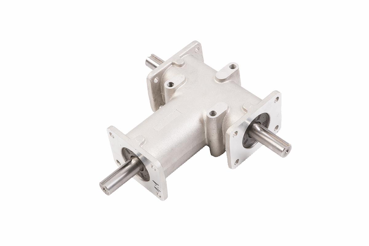 Bevel gearmotor