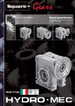 Worm gearbox square